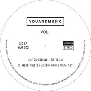 """Various/YOUANDMUSIC VOL. 1 12"""""""