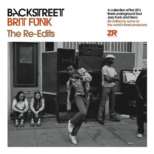 "Backstreet Brit Funk/THE RE-EDITS EP 12"""