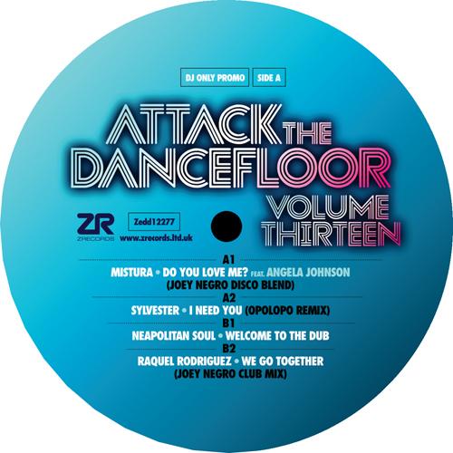 "Various/ATTACK THE DANCEFLOOR VOL 13 12"""