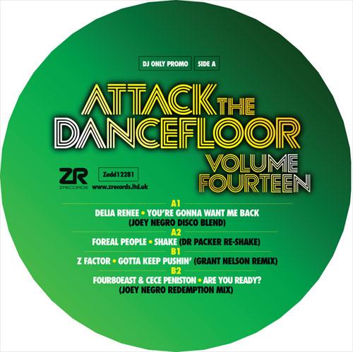 "Various/ATTACK THE DANCEFLOOR VOL 14 12"""
