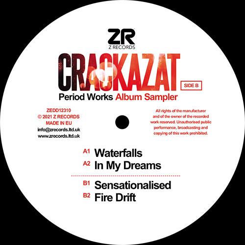 "Crackazat/PERIOD WORKS ALBUM SAMPLER 12"""