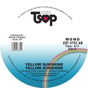 """Yellow Sunshine/YELLOW SUNSHINE 7"""""""