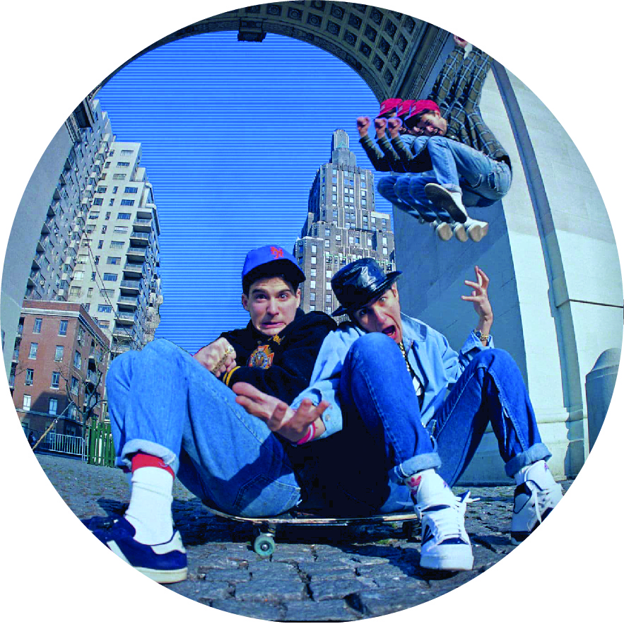 Beastie Boys/BEASTIE SKATE SLIPMAT