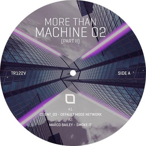 "Various/MORE THAN MACHINE 02: PART 2 12"""