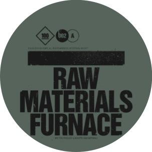 "Raw Materials/FURNACE 12"""