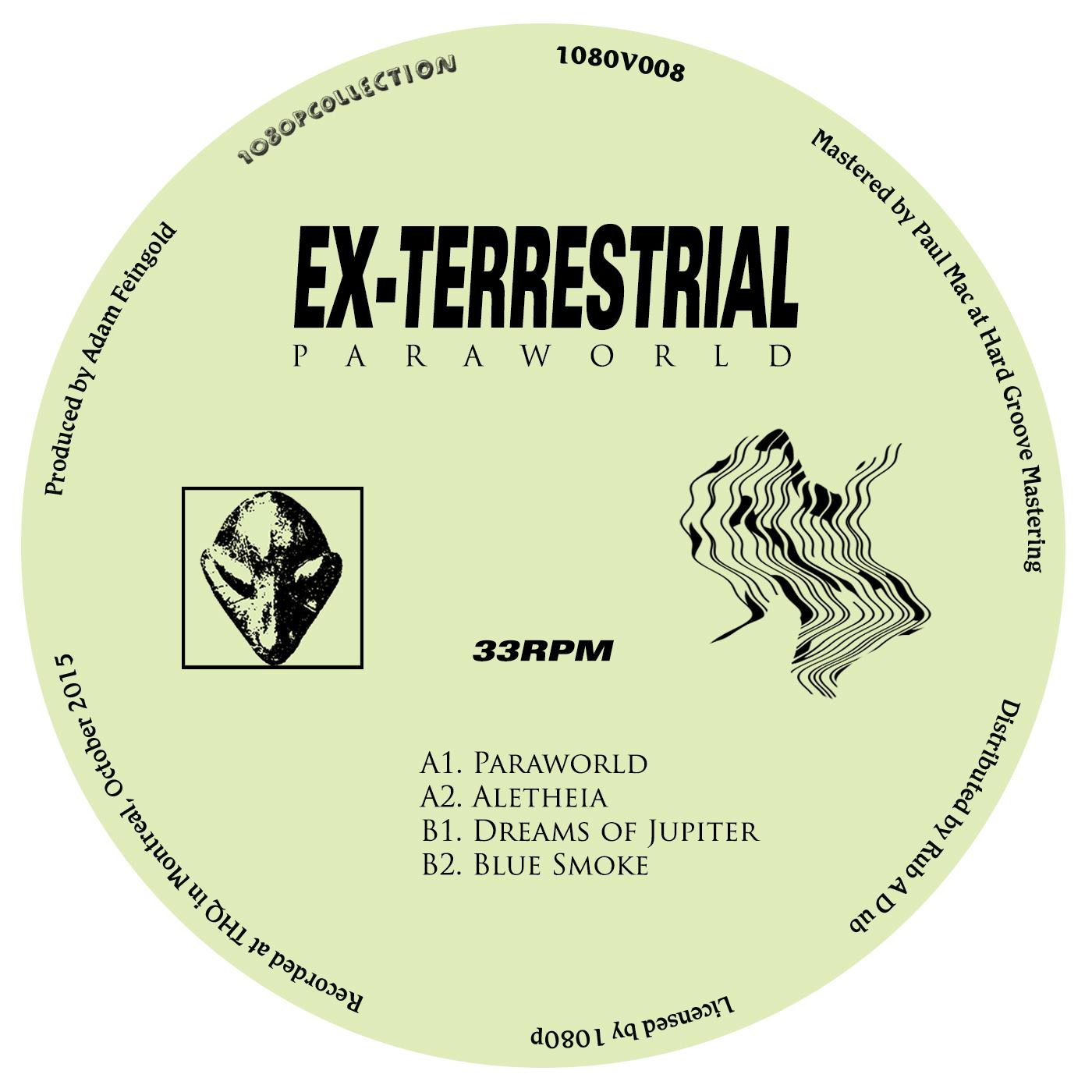 """Ex-Terrestrial/PARAWORLD 12"""""""
