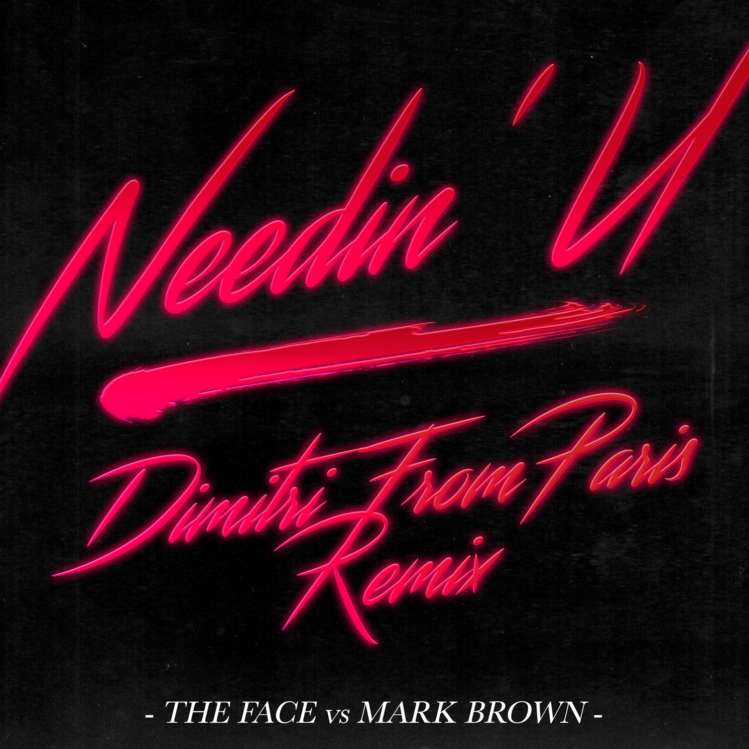 Face/NEEDIN U-DIMITRI FROM PARIS RMX 12""