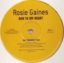 """Rosie Gaines/RUN TO MY HEART (REMIX) 12"""""""