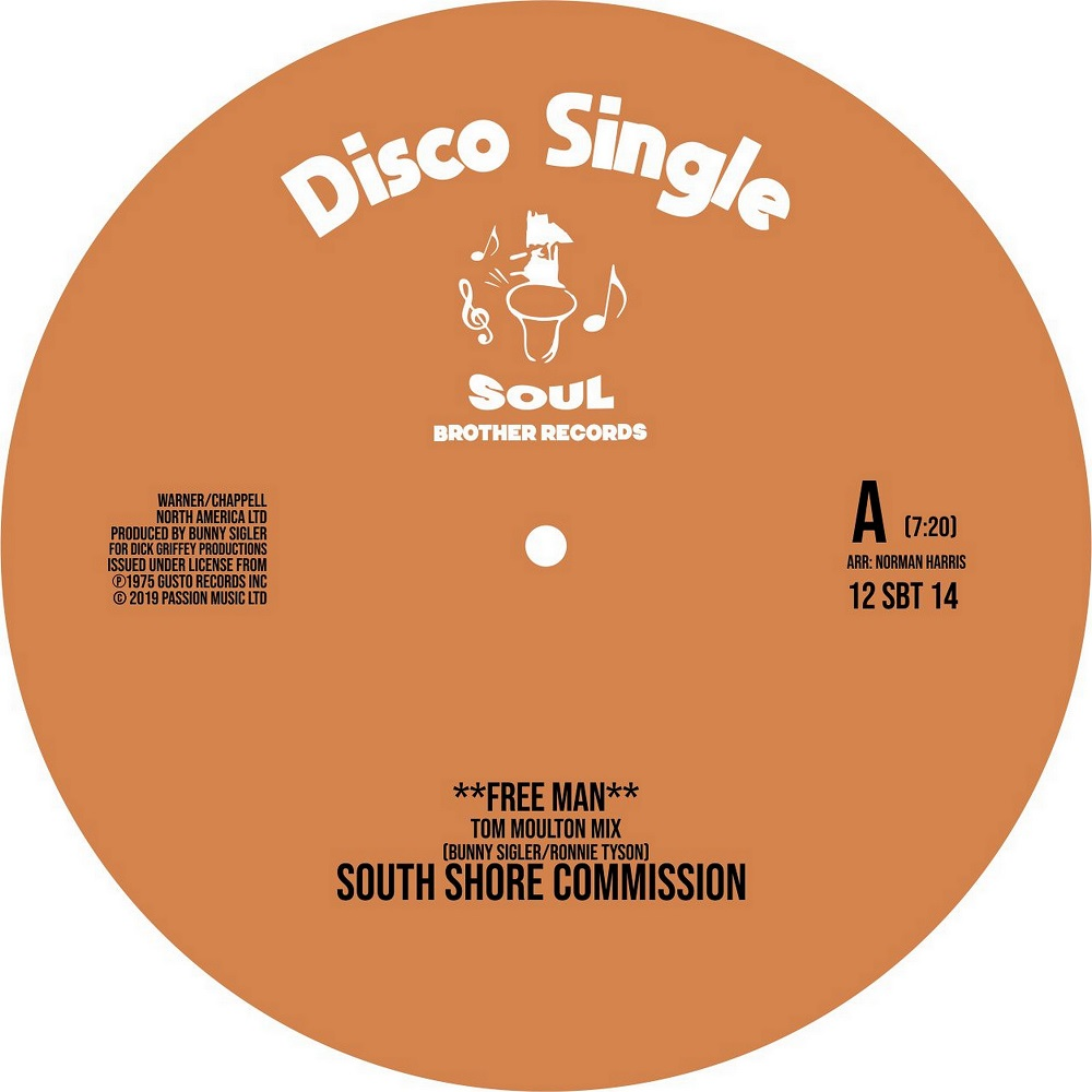 South Shore & Ultra High/TOM MOULTON 12""