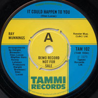 """Ray Munnings/IT COULD HAPPEN TO YOU 12"""""""
