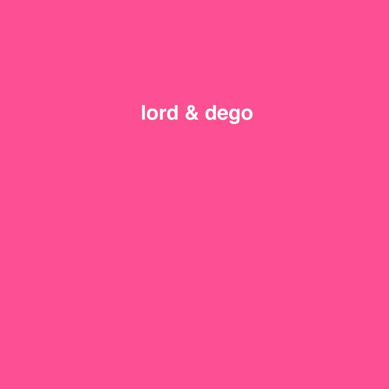 """Lord & Dego/BMX BEATS 12"""""""