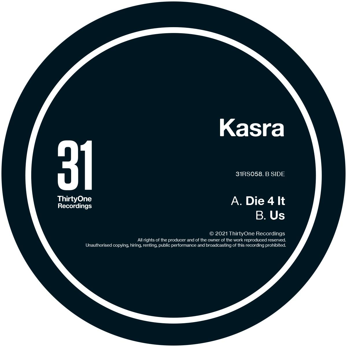 Kasra/DIE 4 IT 12""