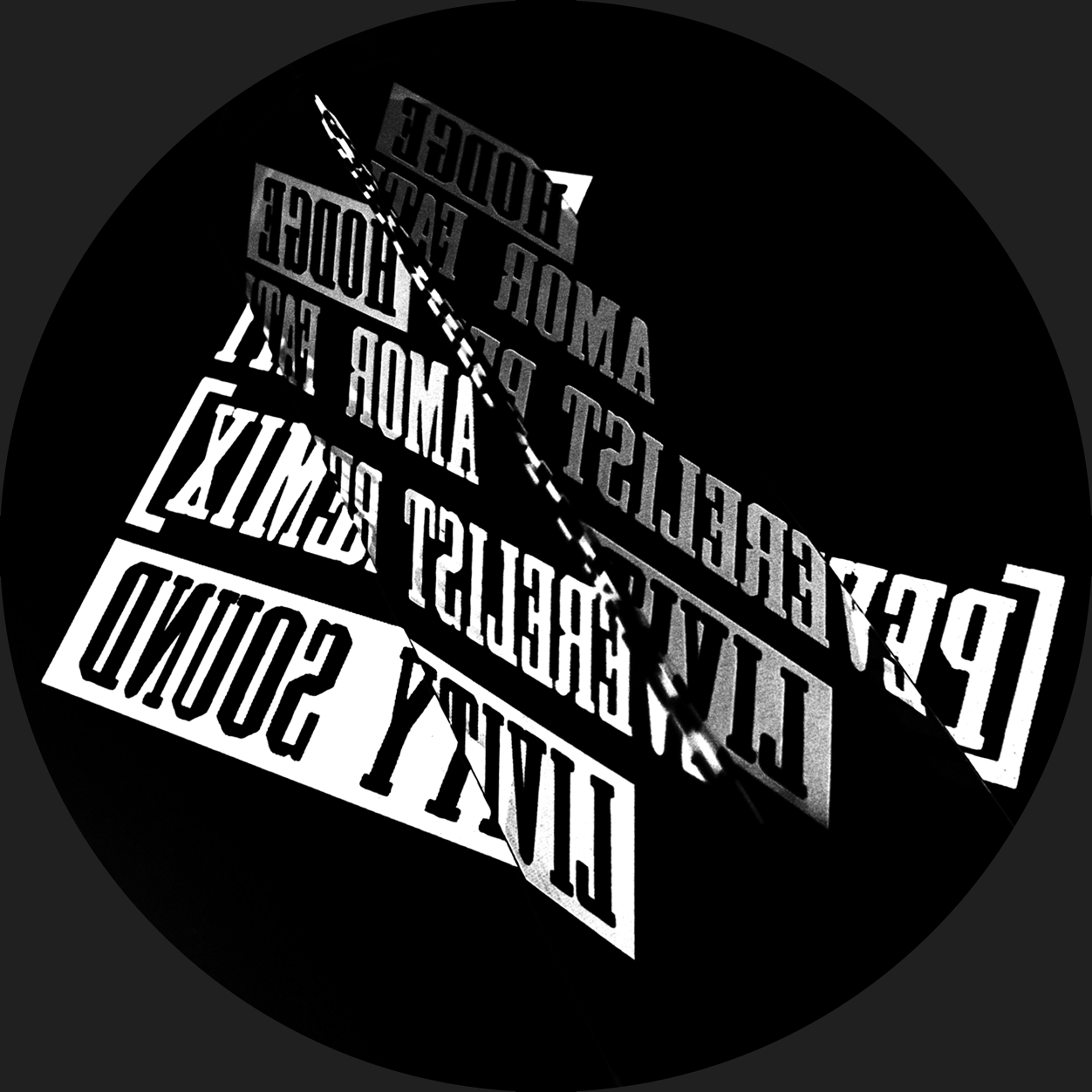 "Hodge/AMOR FATI (PEVERELIST REMIX) 12"""