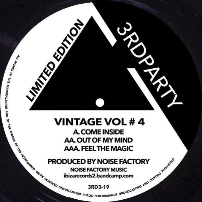 """Noise Factory/VINTAGE VOL #4 12"""""""