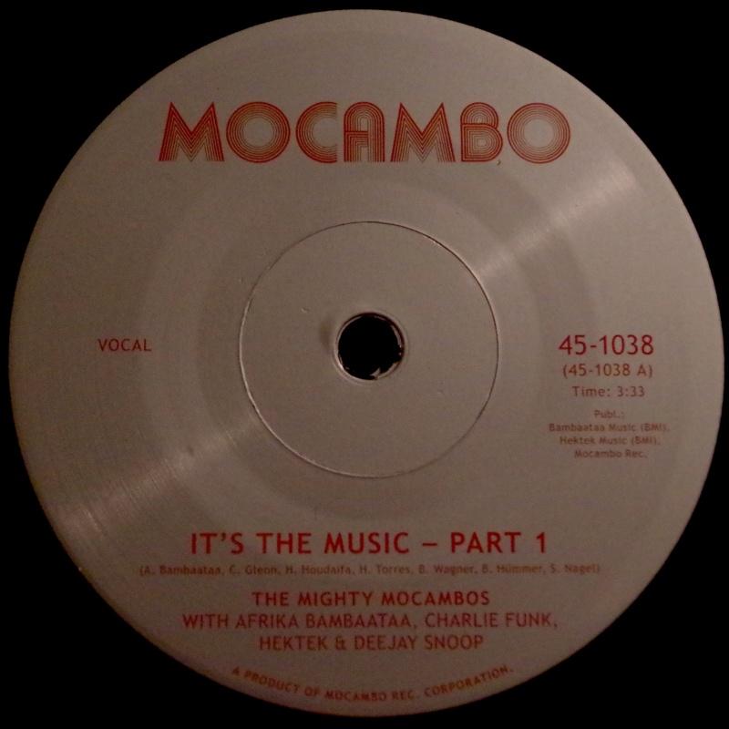 "Mighty Mocambos & A. Bambaataa/IT'S 7"""