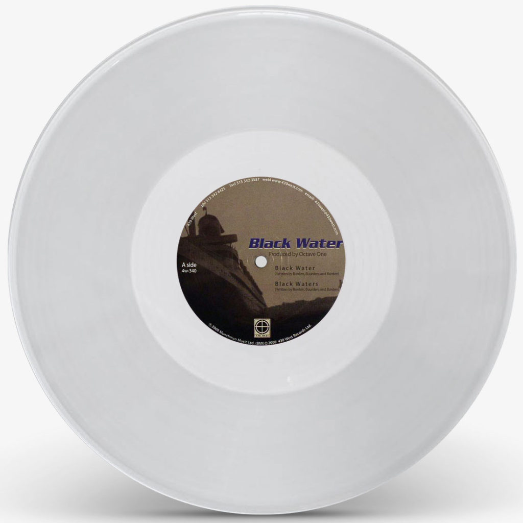 """Octave One/BLACK WATER (CLEAR) 12"""""""