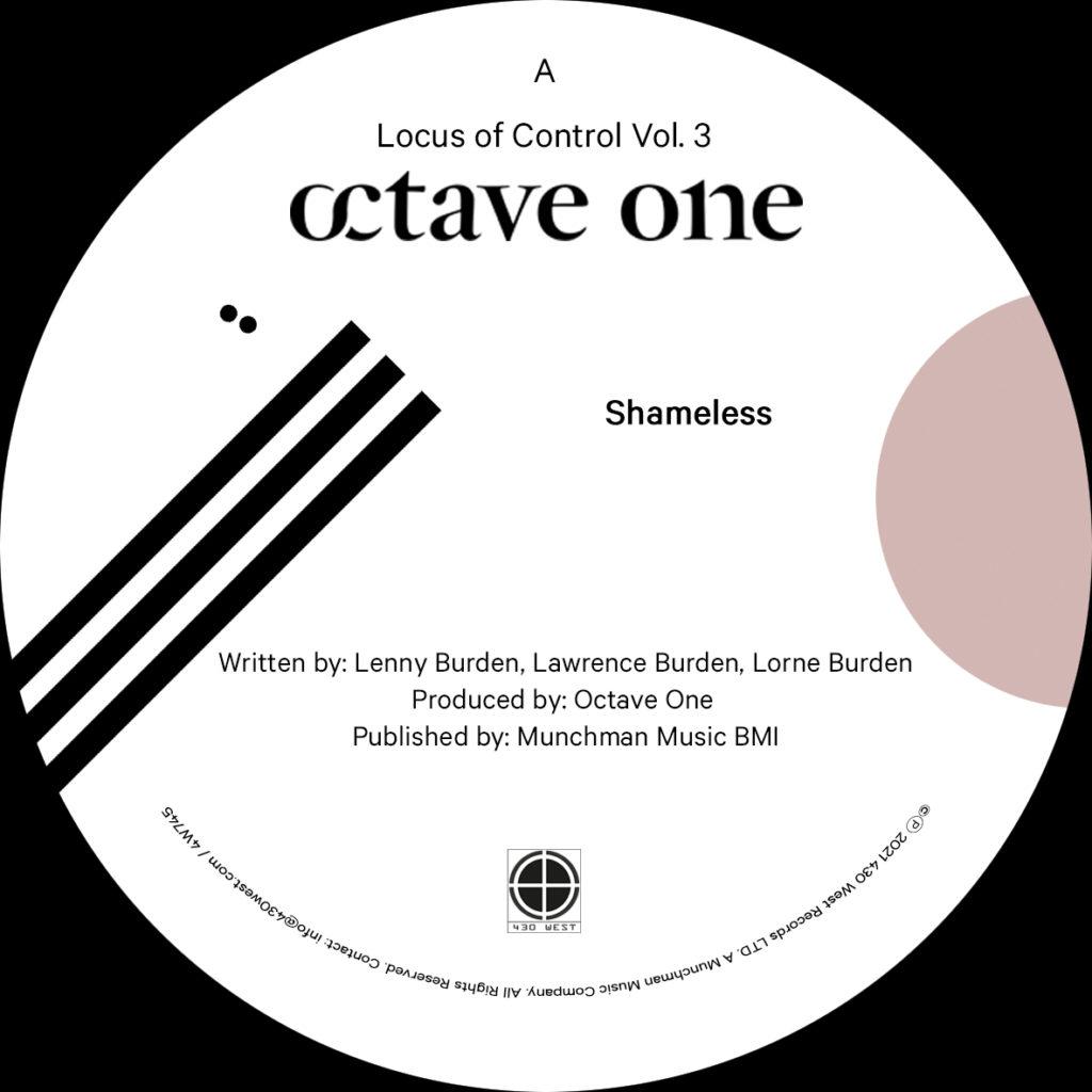 """Octave One/LOCUS OF CONTROL VOL. 3 12"""""""