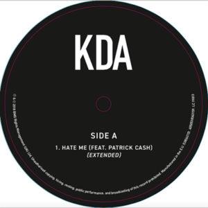 "KDA/HATE ME 12"""