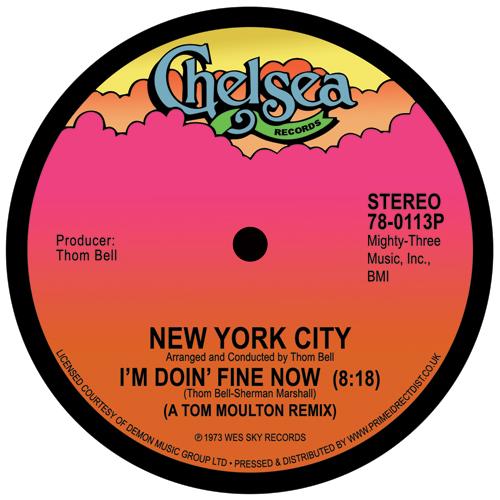 "New York City/I'M DOIN' FINE NOW 12"""