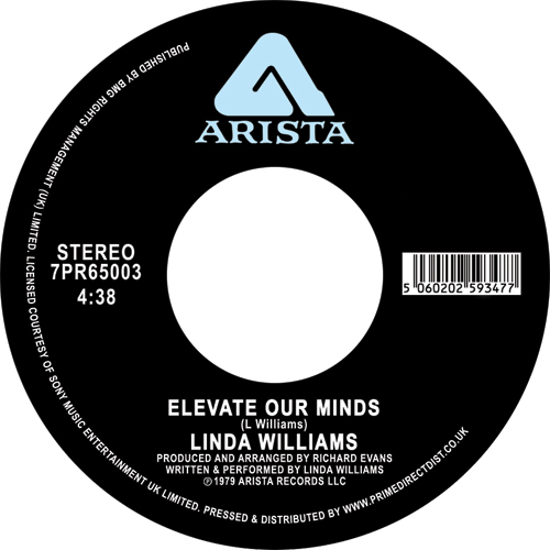 Linda Williams/ELEVATE OUR MINDS 7""
