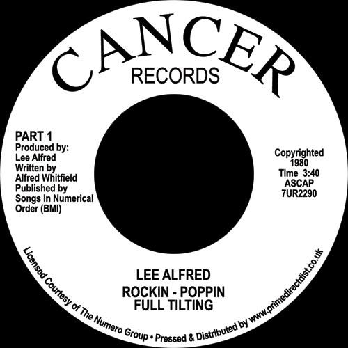 "Lee Alfred/ROCKIN - POPPIN 7"""