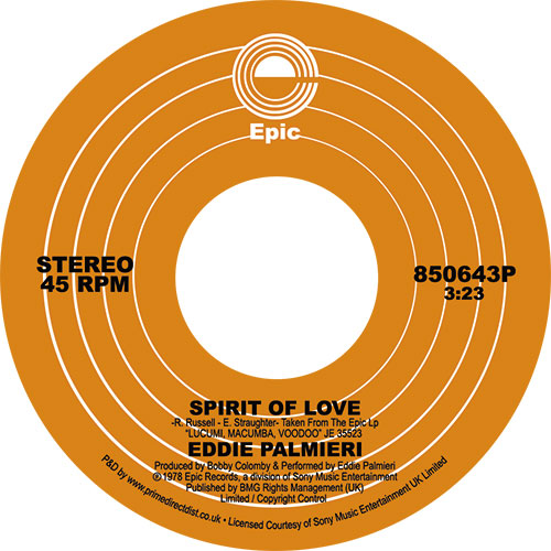 Eddie Palmieri/SPIRIT OF LOVE 7""