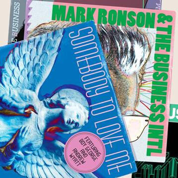 Mark Ronson/SOMEBODY TO LOVE ME 12""