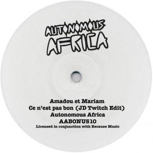 "Amadou & Mariam/CE N'EST-JD TWITCH 10"""