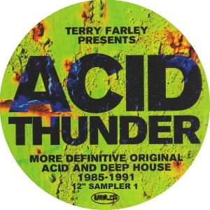 Various/ACID THUNDER SAMPLER VOL. 1 12""