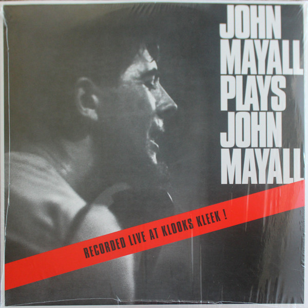 John Mayall/PLAYS JOHN MAYALL LP