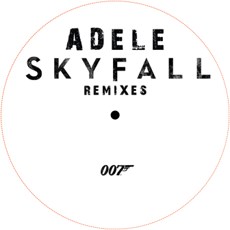 "Adele/SKYFALL REMIX 12"""