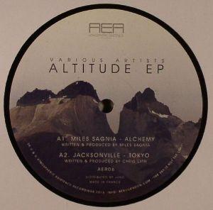"""Miles Sagnia/ALTITUDE EP  12"""""""