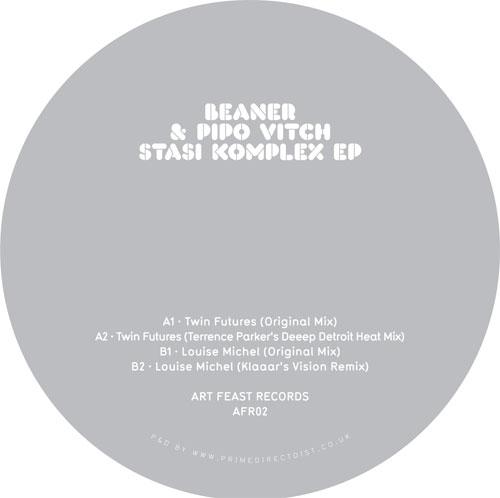 "Beaner & Pipo Vitch/STASI KOMPLEX EP 12"""