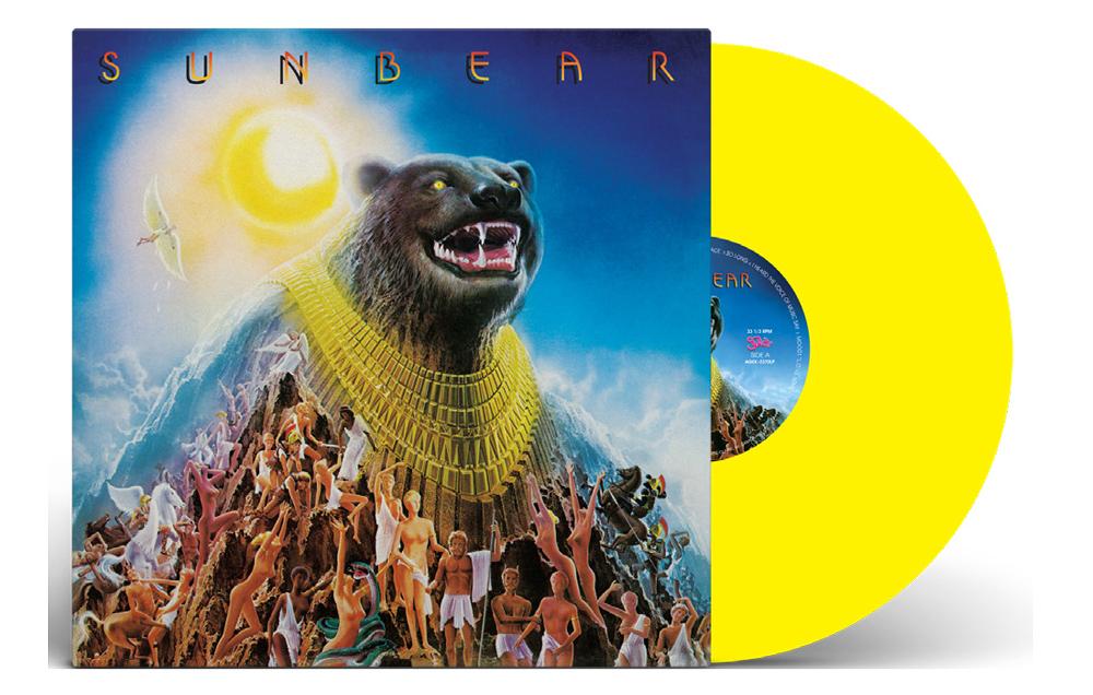 Sunbear/SUNBEAR (YELLOW VINYL) LP