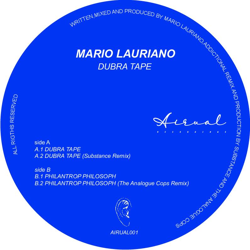 "Mario Lauriano/DUBRA TAPE 12"""