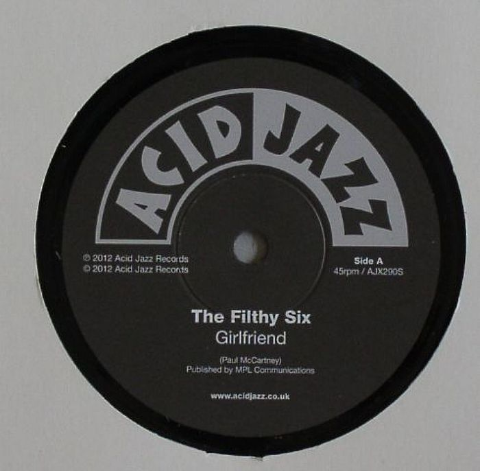 Filthy Six, The/GIRLFRIEND  7""