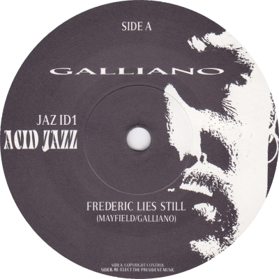 Galliano/FREDERIC LIES STILL  7""