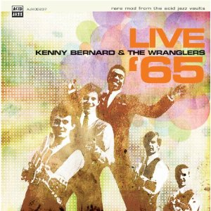 Kenny Bernard & The Wranglers/LIVE'65 LP