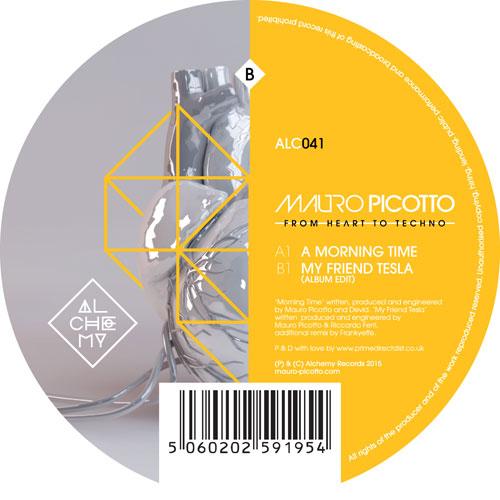 "Mauro Picotto/A MORNING TIME 12"""