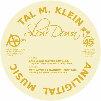 """Tal M. Klein/SLOW DOWN EP 12"""""""