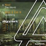 "Noel & Exit9/THE WORLD 12"""