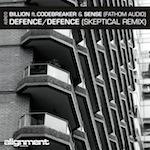 """Billion/DEFENCE (SKEPTICAL REMIX) 12"""""""