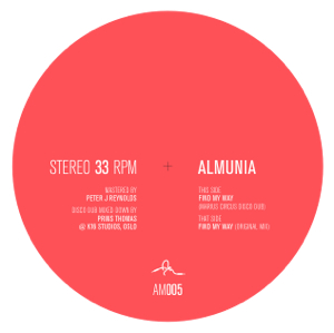 Almunia/FIND MY WAY 10""