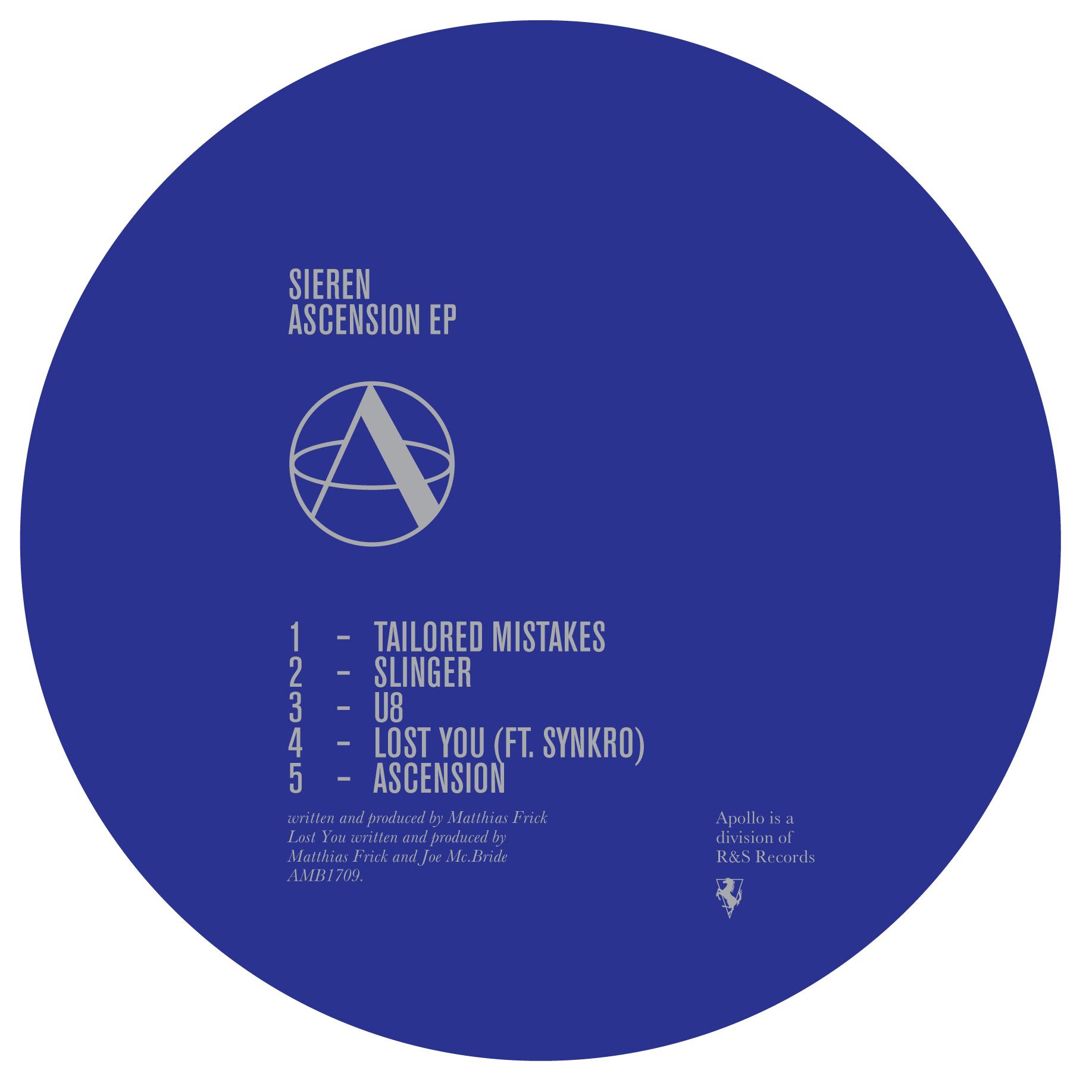 "Sieren/ASCENSION EP 12"""