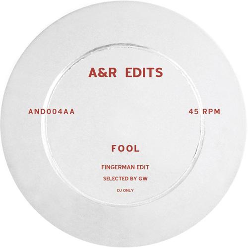 "A&R Edits/VOLUME 4-FINGERMAN 12"""