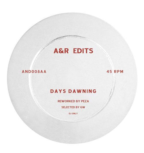 """A&R Edits/VOLUME 8-PEZA 12"""""""
