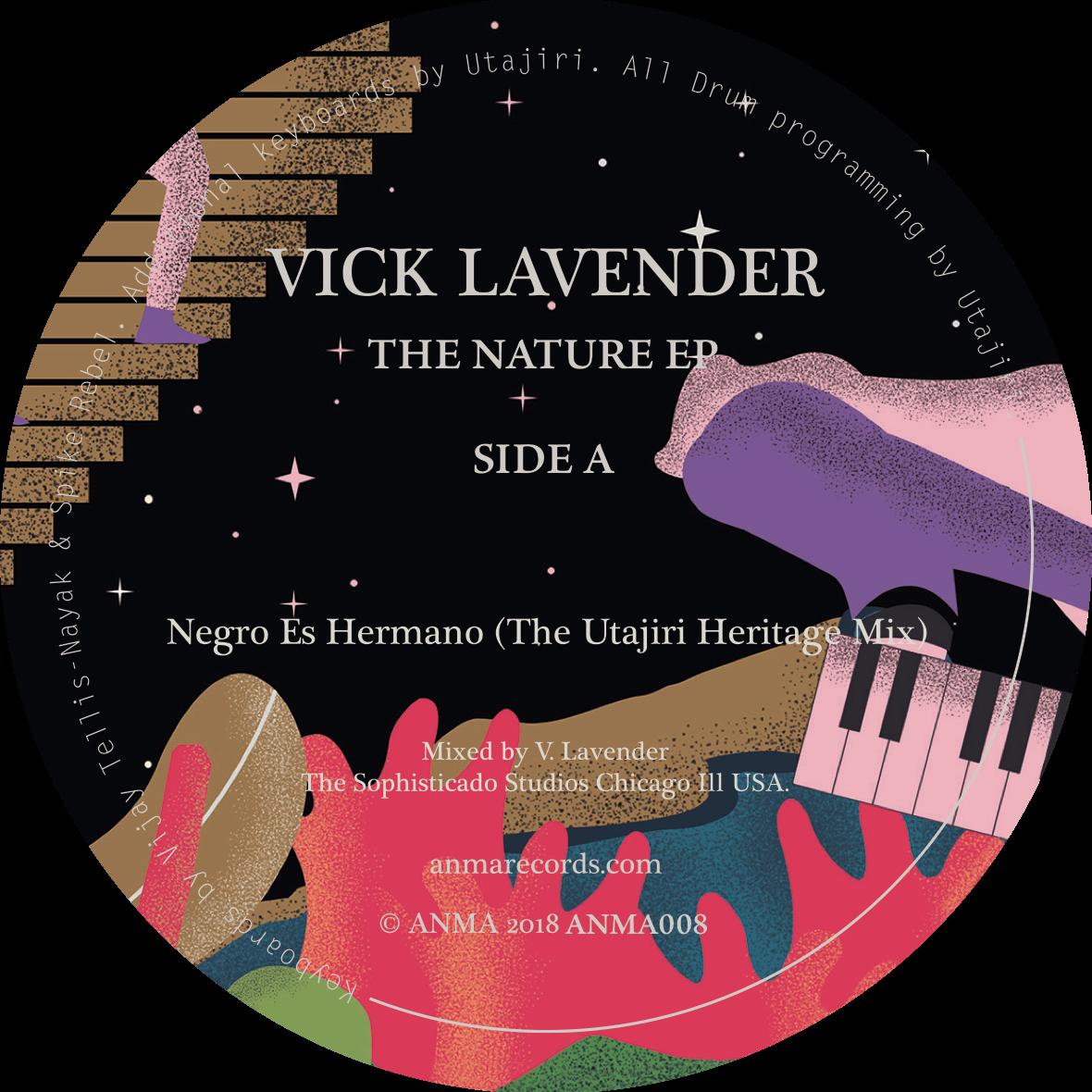 "Vick Lavender/THE NATURE EP 12"""