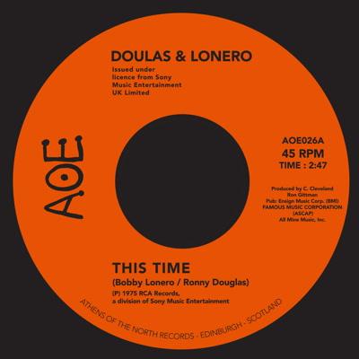 "Douglas & Lonero/THIS TIME 7"""