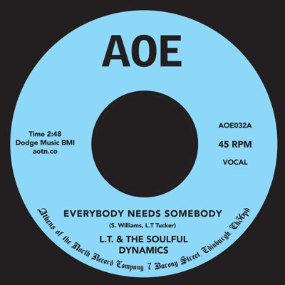 """L.T. & The Soulful Dynamics/EVERYBODY 7"""""""