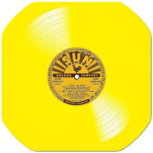 "Elvis Presley/SUN SINGLES 10"" LP"